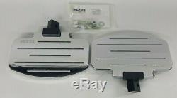 97-02 Vz800 Marauder, Deluxe Chrome Cobra, Passenger Floorboards, Oem#06-3820