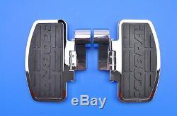 97-03 GL1500 Valkyrie Cobra Classic Passenger Chrome Floorboard Kit 06-3640