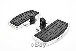99-07 VT1100C Cobra Classic Rear Passenger Chrome Floorboard Kit 06-3621