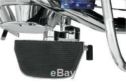 Adjustable Passenger Floorboard Mounts Chrome RiP. HDPBLA For 93-19 HD FLH FLT