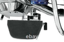 Adjustable Passenger Floorboard Mounts Chrome Rivco HDPBLA For 93-19 HD FLH FLT