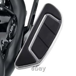 Airflow Chrome Rider Passenger Floorboard Fit For Harley Touring Glide 1986-2021