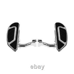 Airflow Driver Passenger Floorboard Fit For Harley Touring Glide 1993-2020