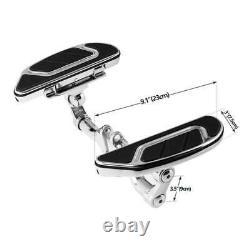 Airflow Rider &Passenger Floorboard &Brake Pedal Fit For Harley Touring FL 93-Up