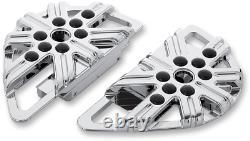 Arlen Ness Fusion Series Adjustable Passenger Floorboards 10 Guage Chrome 06-862