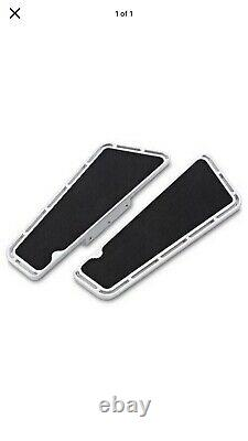 Arlen Ness Slot Track Fusion Series Passenger Floorboard, Chrome 15-413