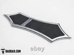Bad Dad Chrome Floorboard Kit 966 Boards Passenger Boards Single Shift Peg 81169
