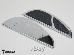 Bad Dad Chrome Floorboard Kit 966 Boards Passenger Pegs Single Shift Peg 81168-2