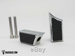 Bad Dad Chrome Floorboard Kit 992 Boards Passenger Pegs Single Shift Peg 81170-2
