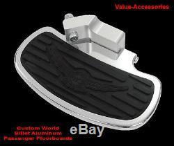 Billet Aluminum Passenger Floorboards, Kawasaki VN 1600 CL, #02-2772