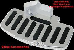 Billet Aluminum Passenger Floorboards, Kawasaki VN 2000, #02-2764