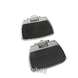 Can-Am New OEM Spyder RT Motorcycle Chrome Passenger Floorboards, 219400265