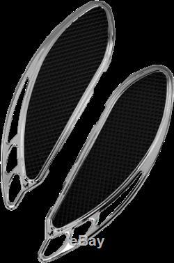 Carl Brouhard Designs Chrome Elite Velocity Passenger Floorboards Fb-R003-C
