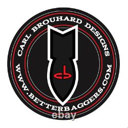 Carl Brouhard Designs IFBR001C Elite Passenger Floorboards Indian Chief Clas