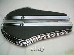 Chrome Defiance Rider Footboard Kit 50500797 Harley Softail'18-later Floorboard
