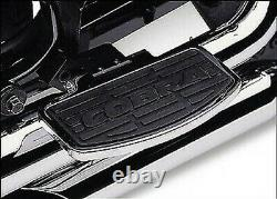 Cobra Classic Rear Passenger Floorboard Kit Chrome (06-3740)