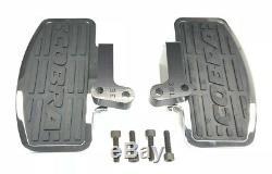 Cobra Classic Rear Passenger Floorboard Kit Chrome (06-3840)