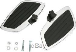 Cobra Passenger Floorboards Swept Chrome fits Honda VTX1800C 2002-2004 06-4650
