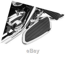 Cobra Swept Passenger Floorboards Chrome 06-4650