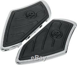 Contour Passenger Floorboards Chrome PeM. 0036-1001-CH For 87-20 Harley