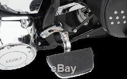 Drag Specialties Chrome Passenger Floorboard Mount 2000-2017 Harley Softail