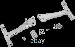 Drag Specialties Passenger Floorboard Mount Kits Chrome