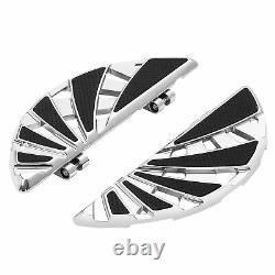 Driver & Passenger Floorboard Footboard Kit Fit For Harley Road Glide 1993-2021
