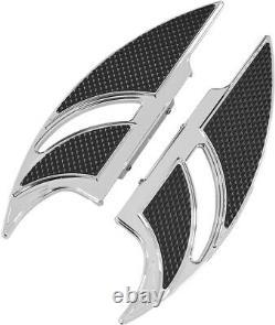 Elite Edge Passenger Floorboards Chrome CBD. FB-R002-C For 87-20 Harley