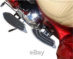 Elite Passenger Floorboards Chrome CBD. IFB-R001-C For 14-20 Indian