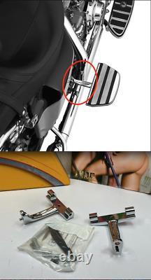 Genuine Harley 97-20 Touring Rear Passenger Foot Floor Board Mounts OEM