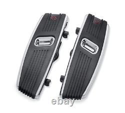 Genuine Harley Davidson Kahuna Passenger Floorboard Kit Chrome Oem 50501151