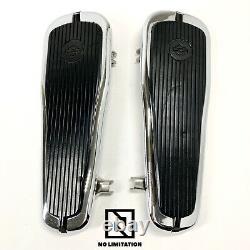 Genuine Harley OEM 86-17 Softail Tapered Logo Rider Driver Floorboard Foot Board