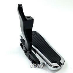 Genuine Harley OEM Crested Bar & Shield RIGHT Passenger Foot Floor Board & Mount