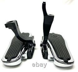 Genuine Harley OEM Softail Heritage Deluxe Passenger Foot Floor Board & Mounts