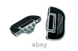 HONDA FURY Chrome Passenger Floorboards / Footboards (Kuryakyn 4351 & 8818)