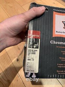 Harley Davidson Dyna Passenger Floorboards Chrome 50886-02 Fxdx Fxdxt Etc. Oem