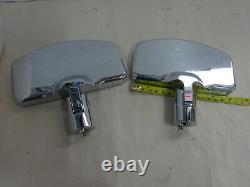 Harley Davidson Rpl Passenger Floorboard Thunder Heart Heavy Duty Chrome/Blk
