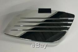 Honda ACE 750 98-2000, Chrome Cobra Swept Passenger Floorboards, #06-4615