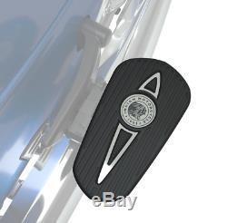 Indian Motorcycle Chrome Headdress Passenger Floorboard Pads For 2020 Challenger