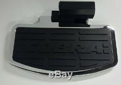 Kawasaki VN1500G NOMAD 1999, Chrome Cobra Passenger Floorboards, #06-3941