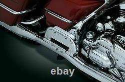 Kuryakyn 4351 Chrome Premium Folding Floorboards for Driver or Passenger