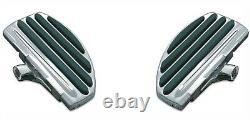 Kuryakyn 4455 Chrome ISO-Floorboard Kit 1-1/4 Higher for Passenger Use