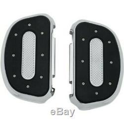 Kuryakyn 7043 Chrome Heavy Industry Passenger Floorboard Boards for Harley Kits