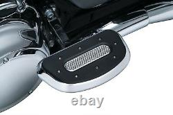 Kuryakyn 7043 Heavy Industry Passenger Floorboards, Chrome Harley'93-'20