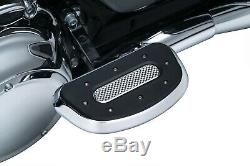 Kuryakyn Chrome Passenger Rear Heavy Industry Floorboards Boards Harley FLH FLST