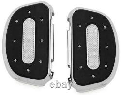 Kuryakyn Heavy Industries Passenger Floorboards #7043 Harley Davidson Chrome