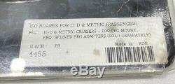 Kuryakyn ISO Passenger Floorboard 4455 Harley Chrome Peg Mount
