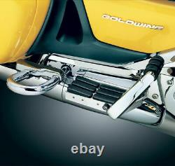 Kuryakyn Passenger Chrome Rubber Transformer Floorboards Honda Goldwing 1800 F6B