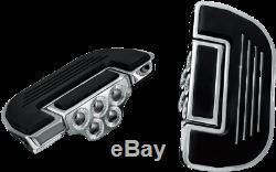 Kuryakyn Premium Chrome Floorboards For Harley Davidson Driver Or Passenger 4351