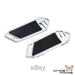 Motorcycle Rider Front Floorboard Foot Pegs For Harley Touring Softail 1984-2015